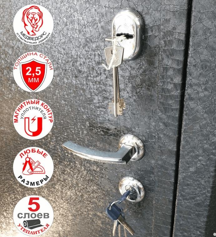 на замках установлены автоматические шторки на ключевинах