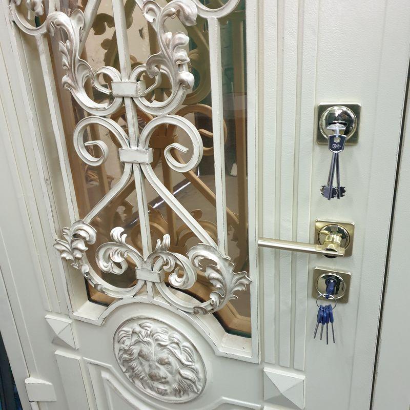 решетка на входную дверь