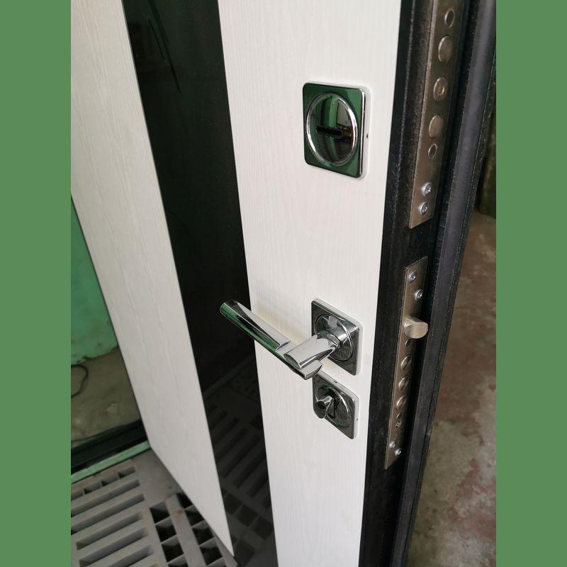 Дверь входная БРОНЯ 62 мм./флз-235/нерж