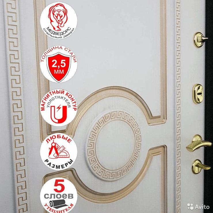 декоративная панель на входной двери